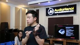 Trải nghiệm AudioQuest cùng đại diện thương hiệu của hãng