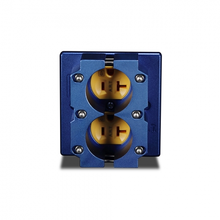 Ổ cắm A.R.T Double Wall Outlet With Clamp