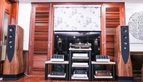 Công trình hoàn thành loa Chario Academy Serendipity và T+A tại nhà anh Khải - Phố Nguyên Hồng