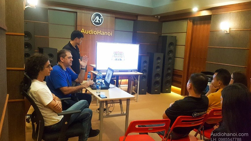 Audia Flight, Viva Audio, Pilium tai Audio Ha Noi dep