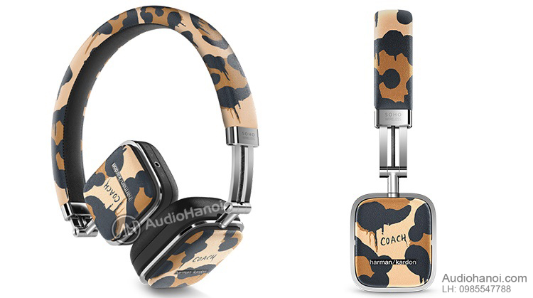 tai nghe Harman Kardon Soho Wireless Coach Limited Edition chat
