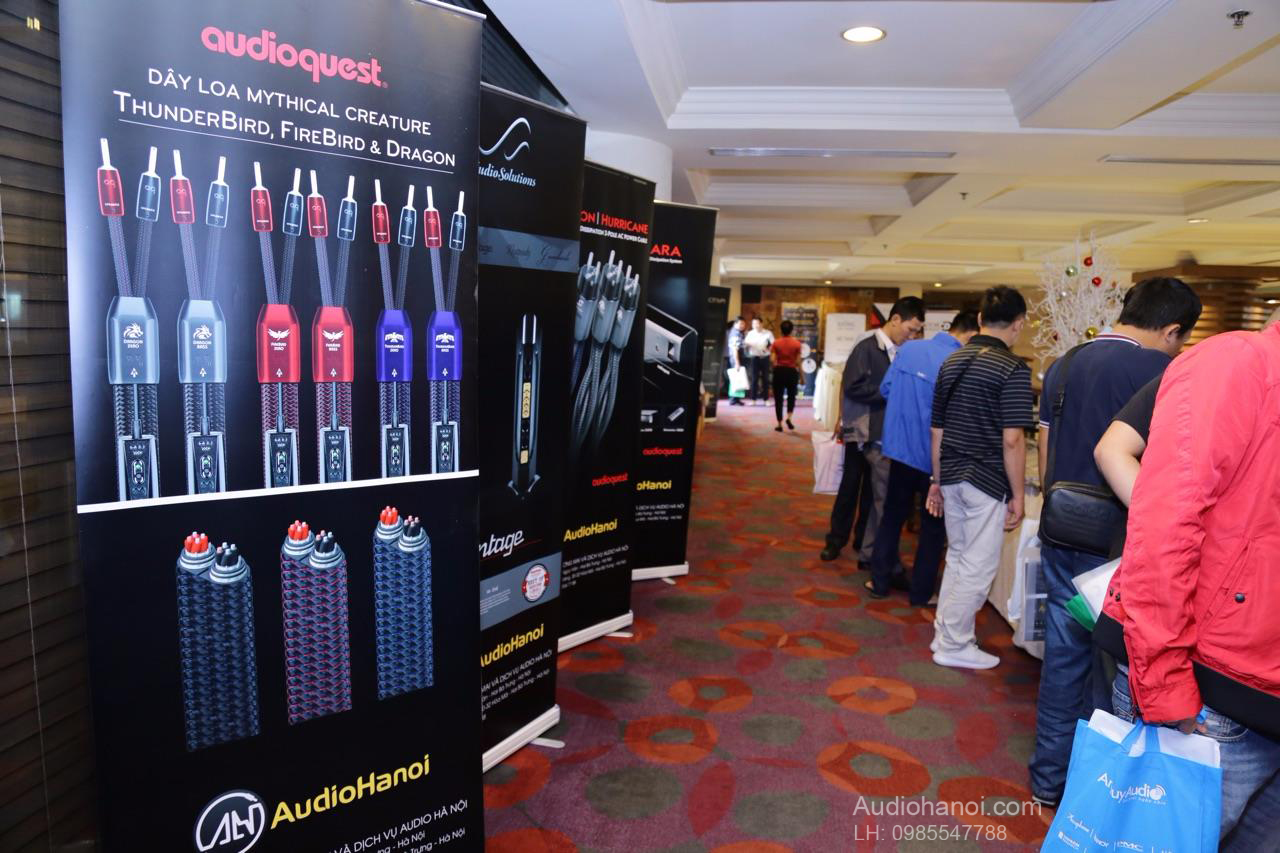Vietnam Hi-end Show 2018 audioquest