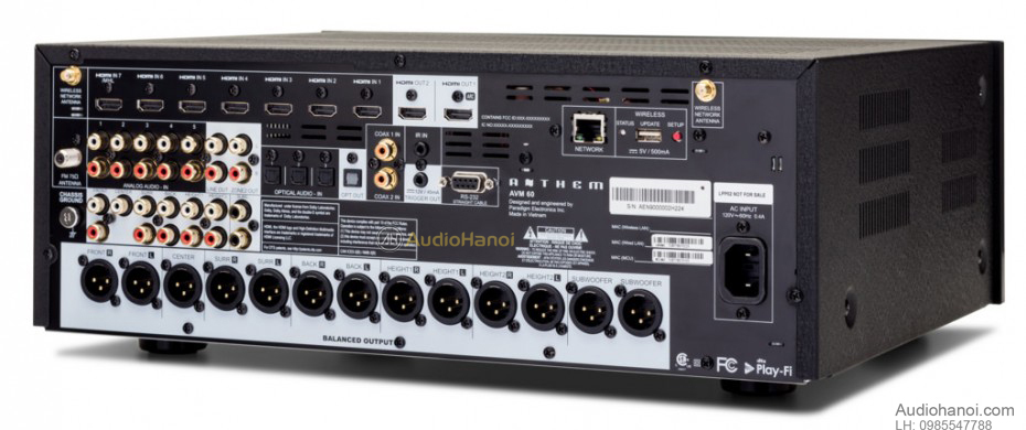 pre ampli Anthem Performance AVM 60 mat sau